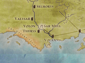 The Valyrian road through Valaena.