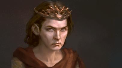 Selyse Florent-Baratheon, the new Night's *Queen*. artist Daria Tuzova