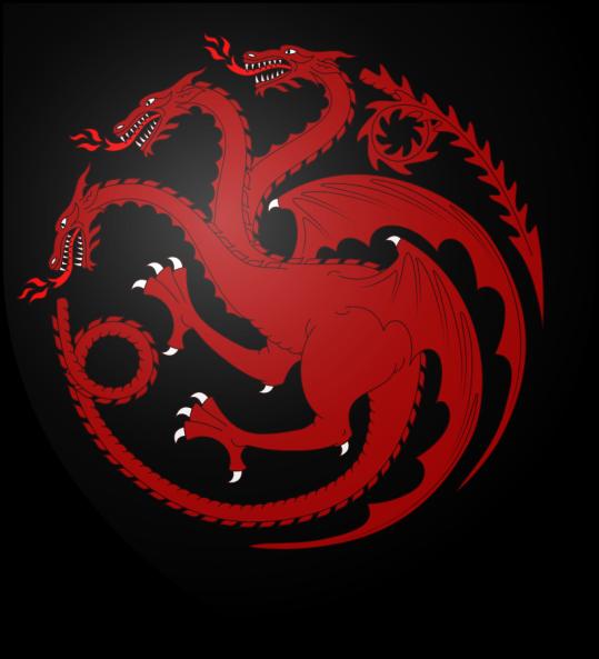 Targaryen Triskelion; three heads instead of three legs.
