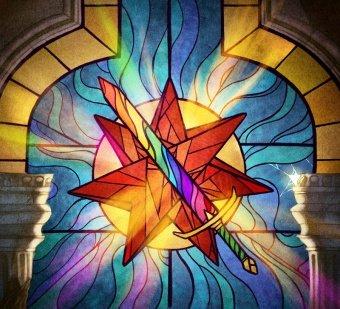 """Blackfyre sword, the sword that """"proves"""" who is ruler. Art by Velvet Engine"""