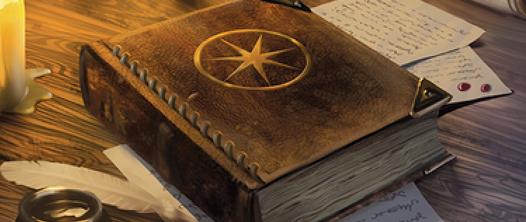 The book The Seven Pointed Star, by artist Sarah Biddle. Note how the star is like a compass.