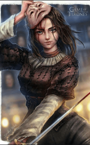 Arya Face Mask by Spider Wee