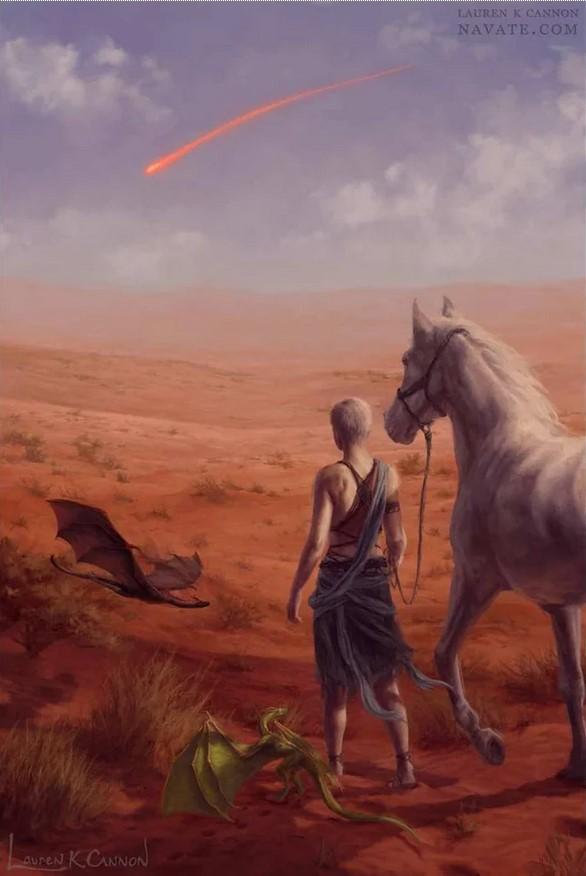 Daenerys Red Waste Lauren K. Cannon