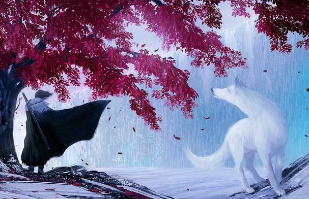 Jon Snow Crow by Ralph Damian