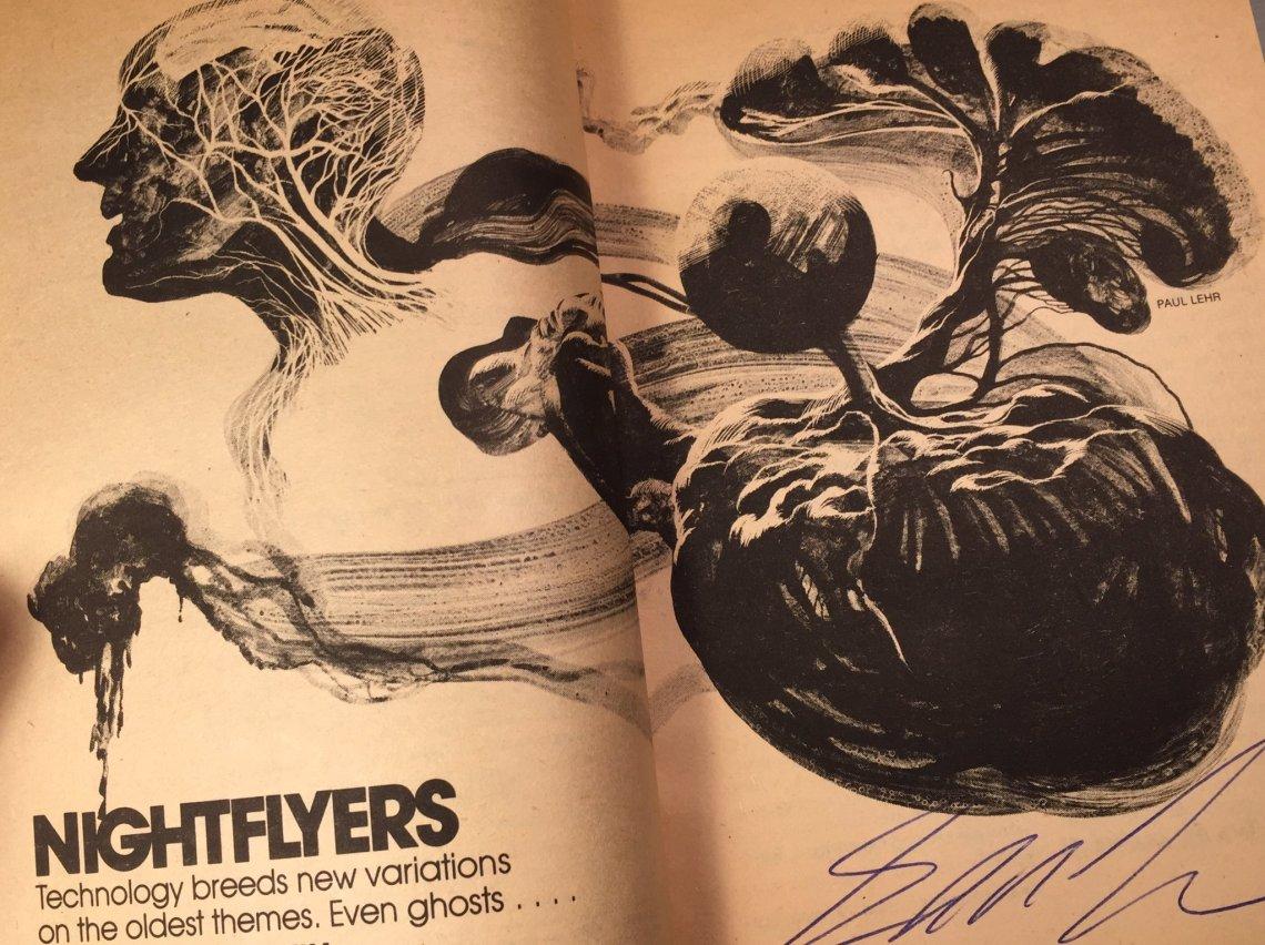 Nightflyers book 1 Fattest Leech