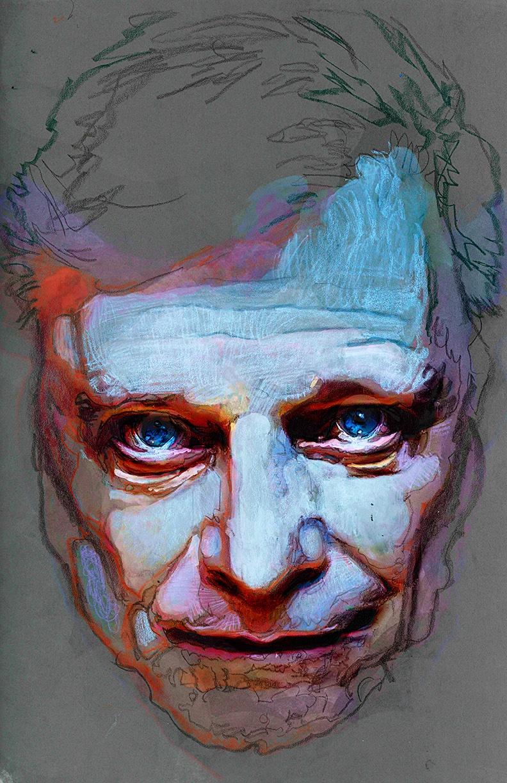 Harlan Ellison by Bill Seinkoweicz