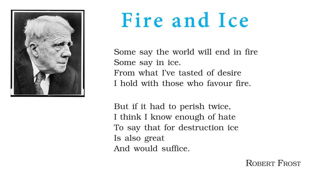 R Frost Fire and Ice